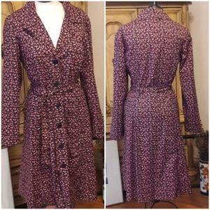 Betsy  Johnson Dress JACKET Flower Print